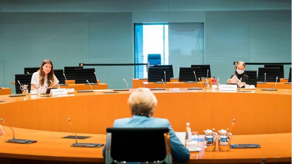 Nach Treffen: Das denkt Greta Thunberg über Angela Merkel