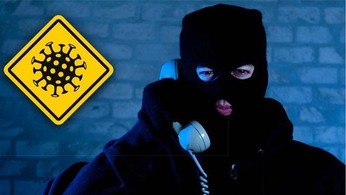 Fiese Corona-Betrugsmaschen: Davor warnt die Polizei