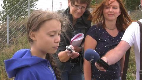 Twitter-Schlacht um Zugfahrt von Greta Thunberg nach Hause
