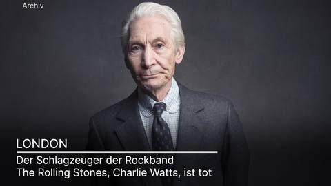 Stones-Schlagzeuger Charlie Watts stirbt mit 80 Jahren