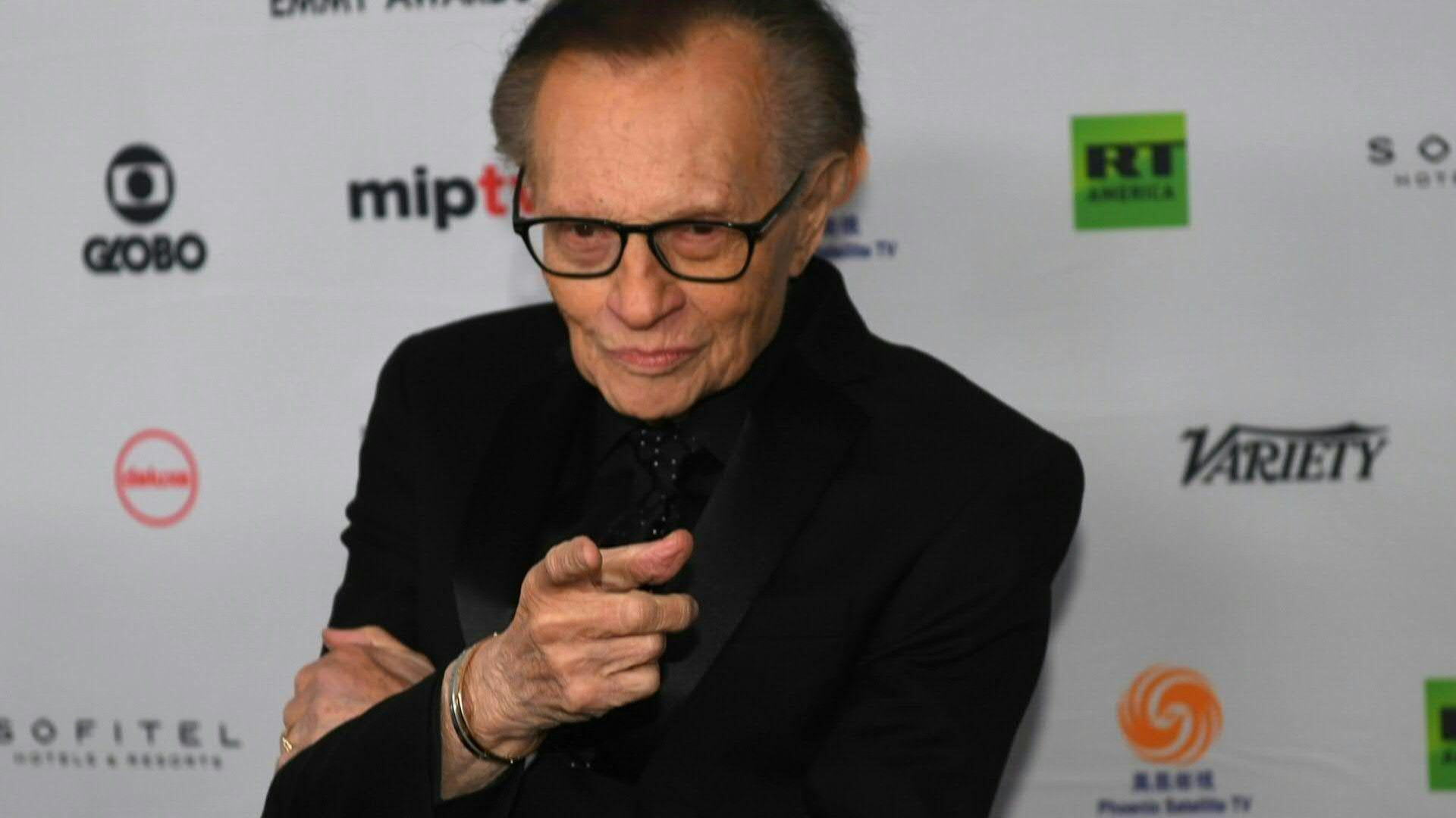 USA |Legendärer TV-Journalist Larry King ist tot