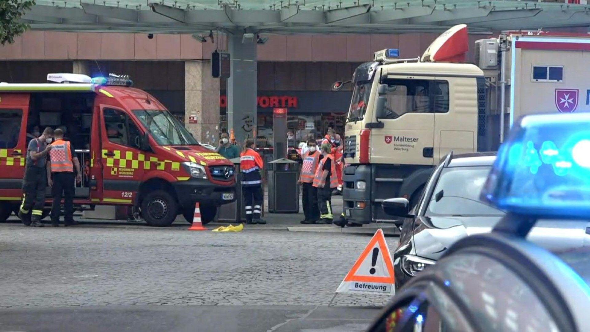 Messerangriff in Würzburg – drei Tote und mehrere Verletzte