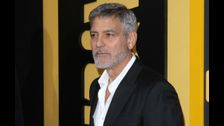 George Clooney was 'forced to hide' in closet