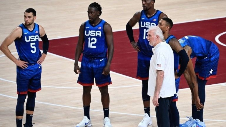 Basketball: USA mit Fehlstart in Gold-Mission bei Olympia