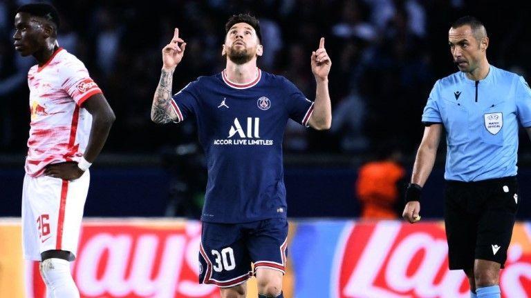 Doppelpack von Messi: Leipzig vor CL-Aus