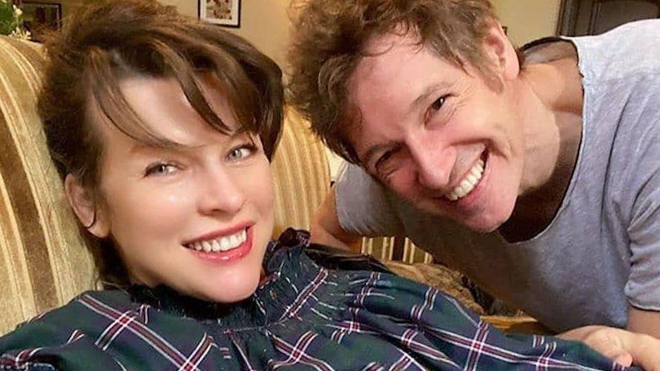 Milla Jovovich: Süße Liebeserklärung an ihren Mann