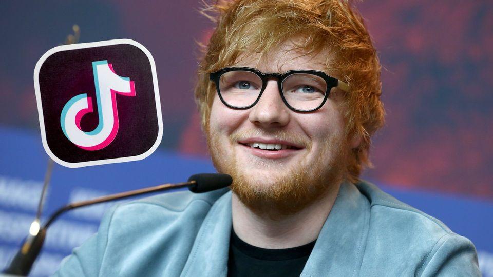 """Mega-Deal: Ed Sheeran unterschreibt Vertrag mit """"TikTok"""""""