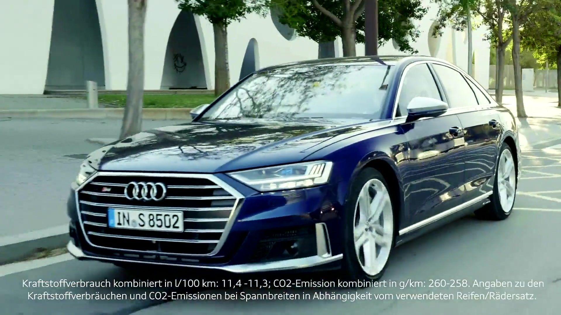 Begeisternde Performance in der Luxusklasse - Der neue Audi S8
