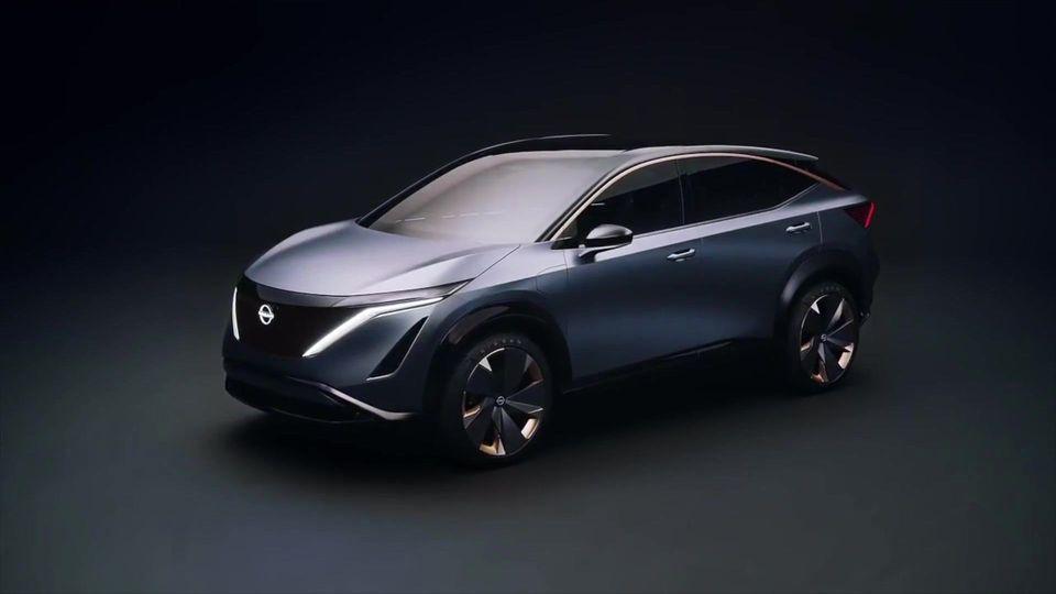 Die Zukunft der Mobilität hat einen Namen - Nissan Ariya Concept