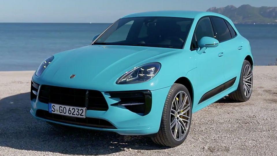 Der neue Porsche Macan S Design