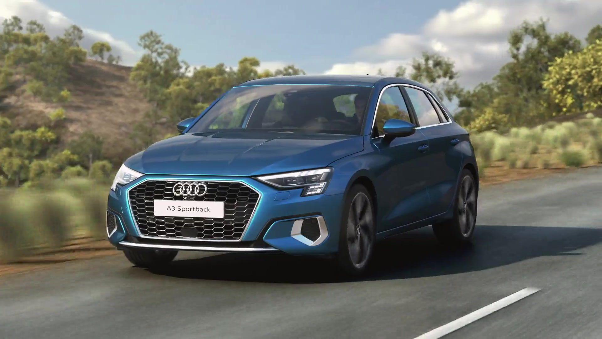Audi A3 Sportback – 48-Volt Mild-Hybrid-System Animation