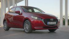 2020 Mazda 2 Exterior Design in Soul Red Crystal