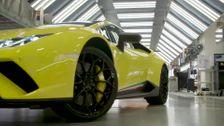 Automobili Lamborghini and composite materials - Lamborghini Carbon fiber on ISS (2019)