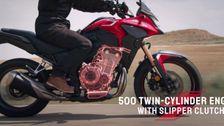 2022 HONDA CB500X Trailer