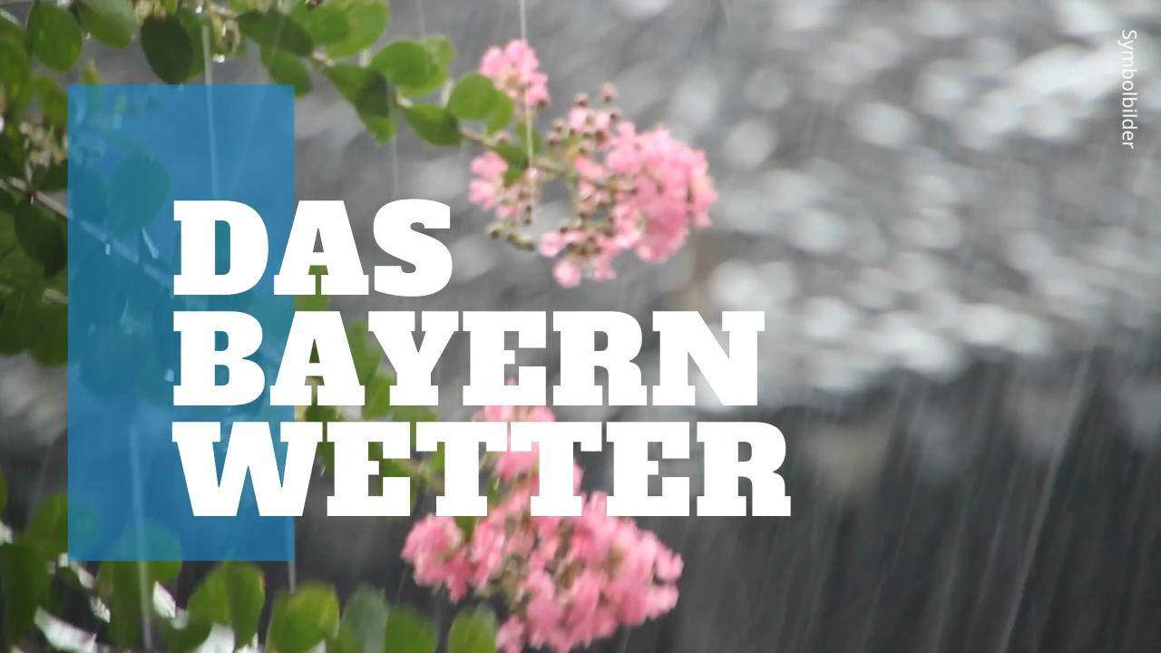 Das Bayern-Wetter: Der April bleibt nass mit Gewitter – zeitweise sonnig