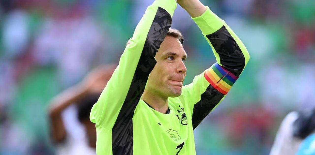Keine Strafe für Kapitänsbinde von Manuel Neuer
