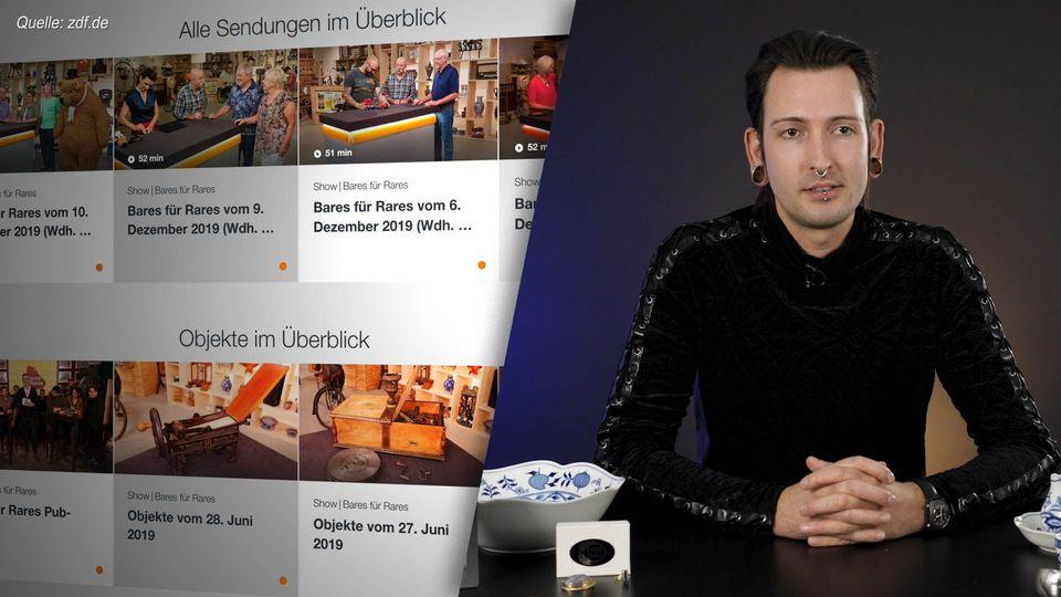 Abzocke bei ZDF-Format Bares für Rares? Händler Fabian Kahl gibt Infos
