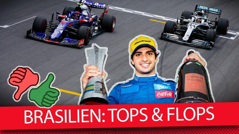 Die Tops & Flops vom Brasilien Grand Prix 2019