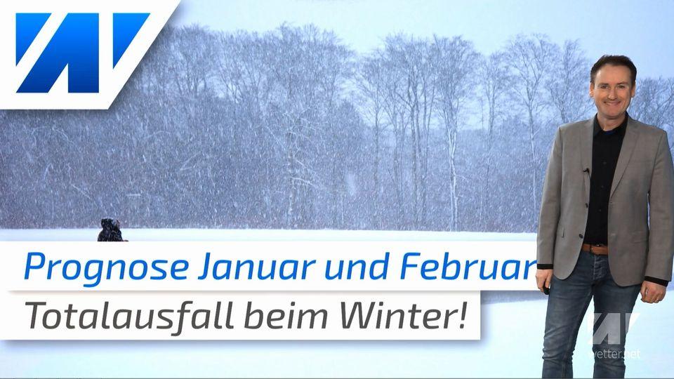 Totalausfall des Winter! Die aktuelle Prognose für Januar und Februar!