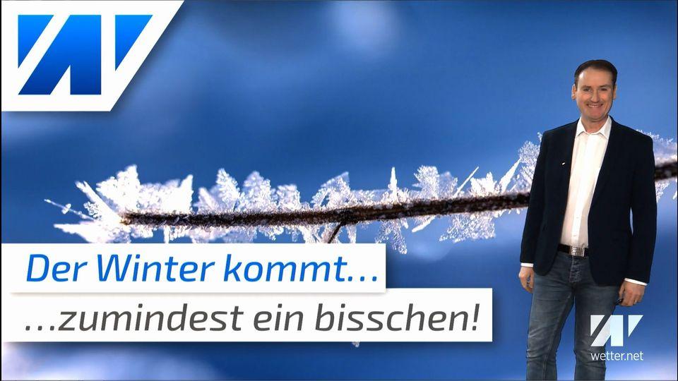 Der Winter kommt! Zumindest ein bisschen...