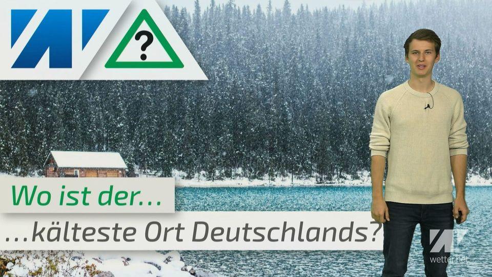 -44°C! Heftig, dass ist der kälteste Ort in Deutschland!