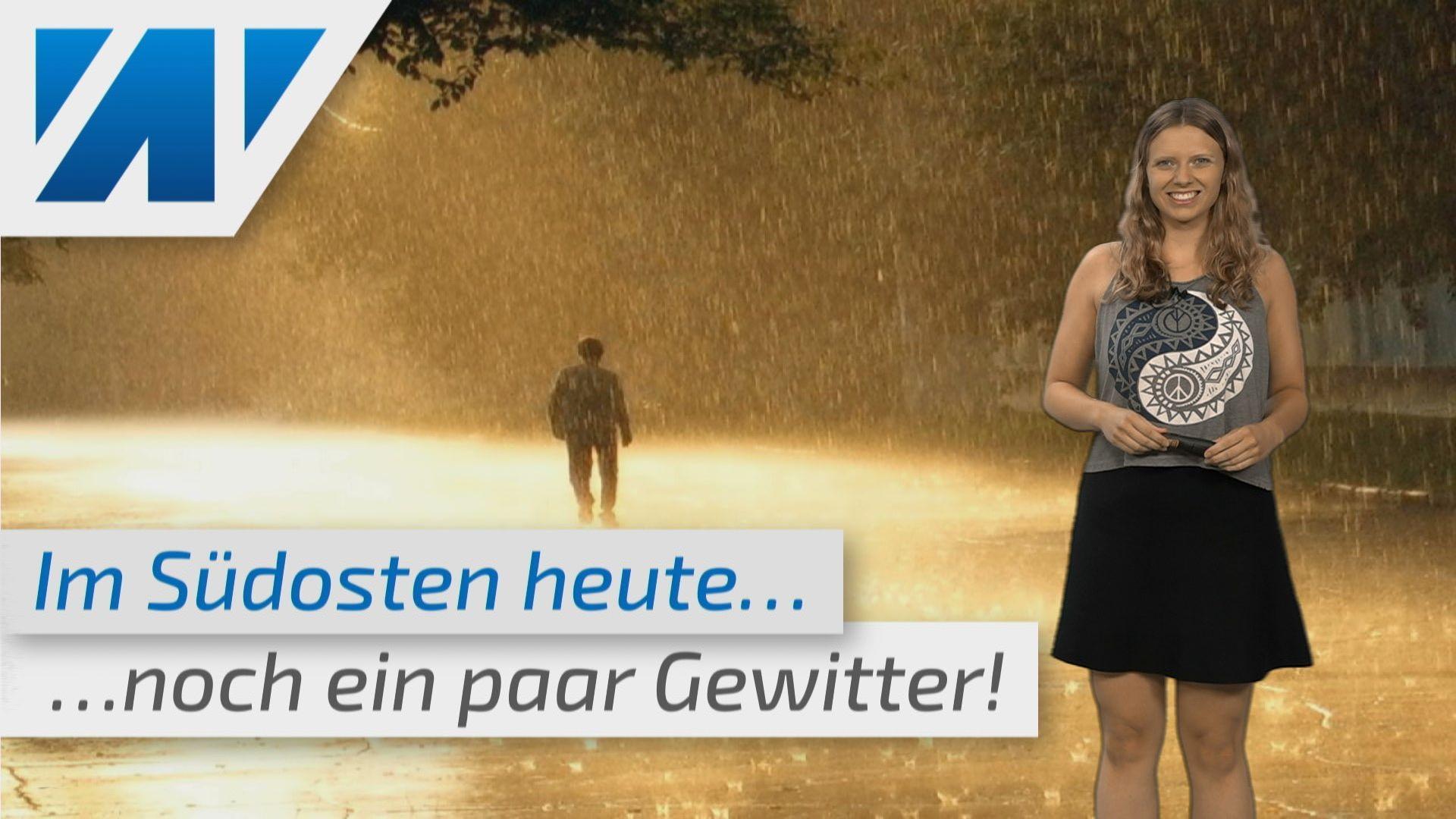 Gewitter? Regenschauer? Oder Sonne-Wolken-Mix? (Mod. Adrienne Jeske)