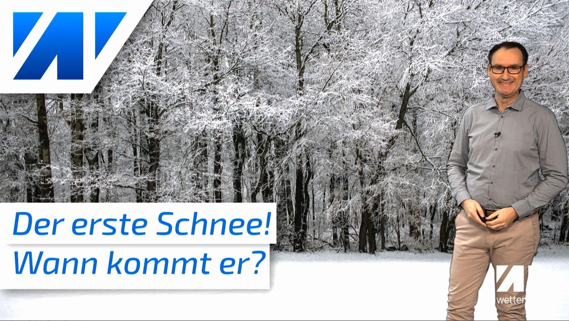 Endlich der erste Schnee: Wann kommt er zu uns nach Deutschland?