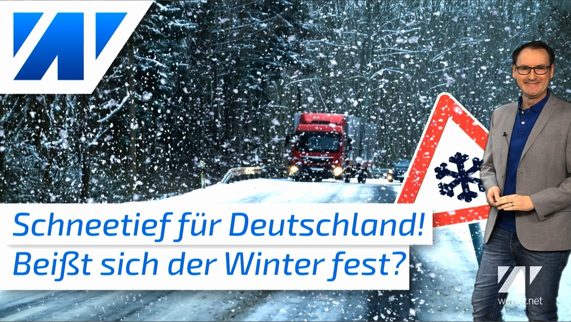 Winterwetter für alle? Schneewarnung für den Sonntag!