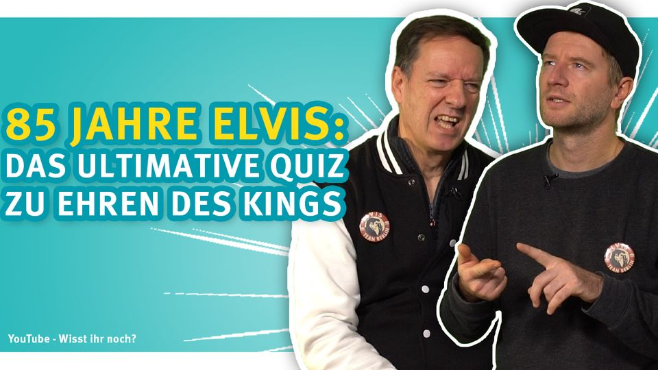 Das ultimative Quiz für alle Fans des King of Rock Elvis Presley