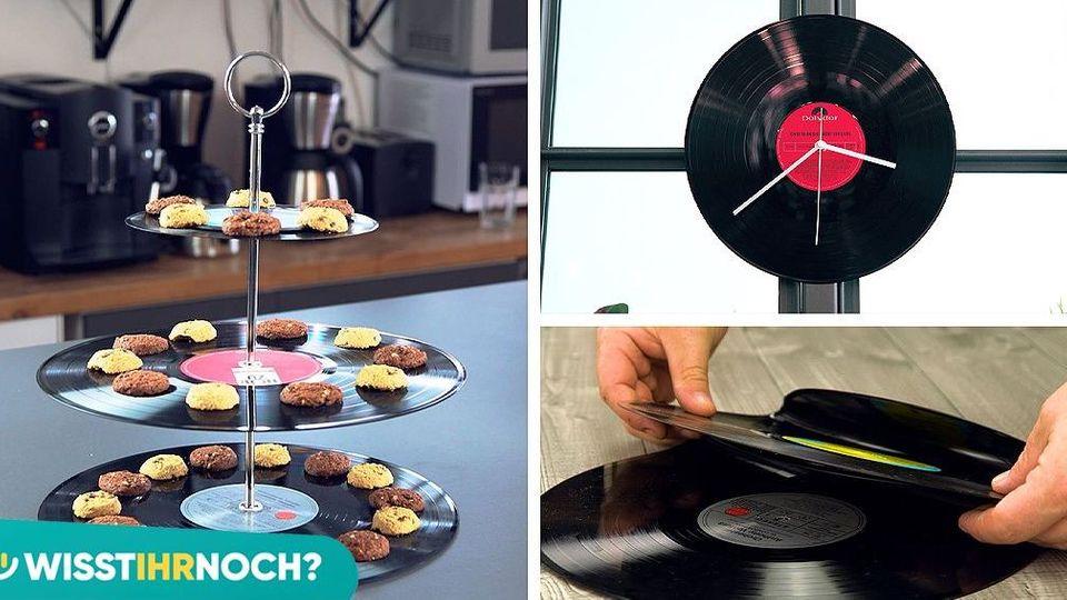5 Alltagshelfer, die du aus alten Schallplatten basteln kannst!