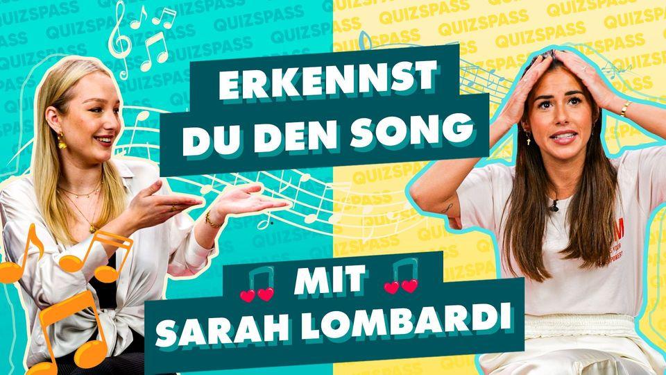 Erkenne den Song mit Sarah Lombardi! - Das Quiz!