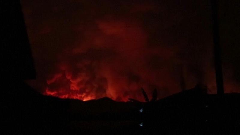DR Kongo: Tausende fliehen nach Vulkanausbruch vor Lavaströmen