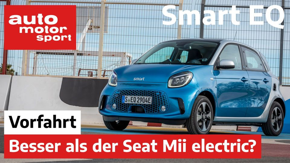 Smart EQ Forfour 2020: Besser als der Seat Mii electric?
