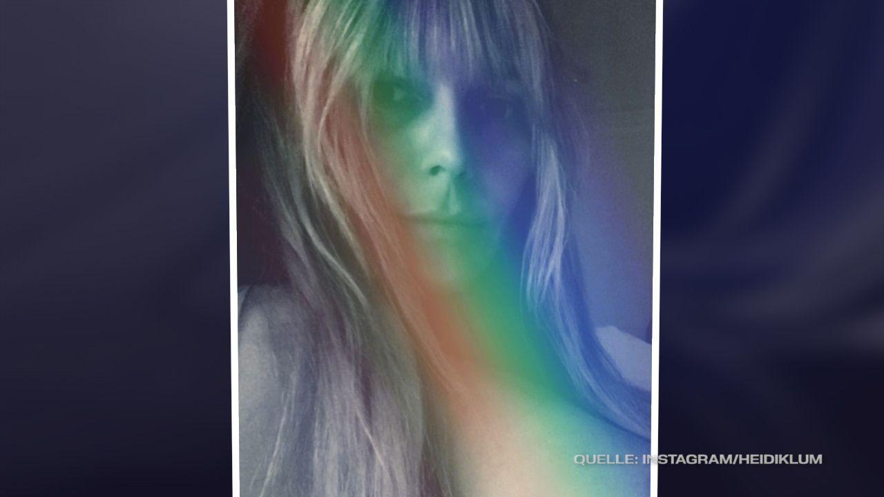 Heidi Klum postet heißes Oben-ohne-Foto - inklusive Nippel-Blitzer