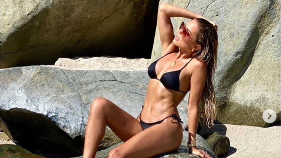 Sexy Sylvie Meis: Mega-Sixpack im knappen Bikini