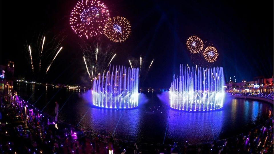 Weltrekord in Dubai: Das ist der größte Springbrunnen der Welt