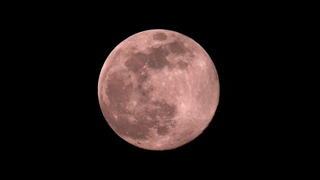 """Himmelsschauspiel: Am Dienstag erscheint der """"Pinke Mond"""""""