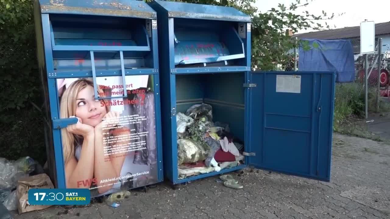 Bayern |25-Jährige verstirbt in Altkleidercontainer – Kriminalpolizei führt Ermittlungen