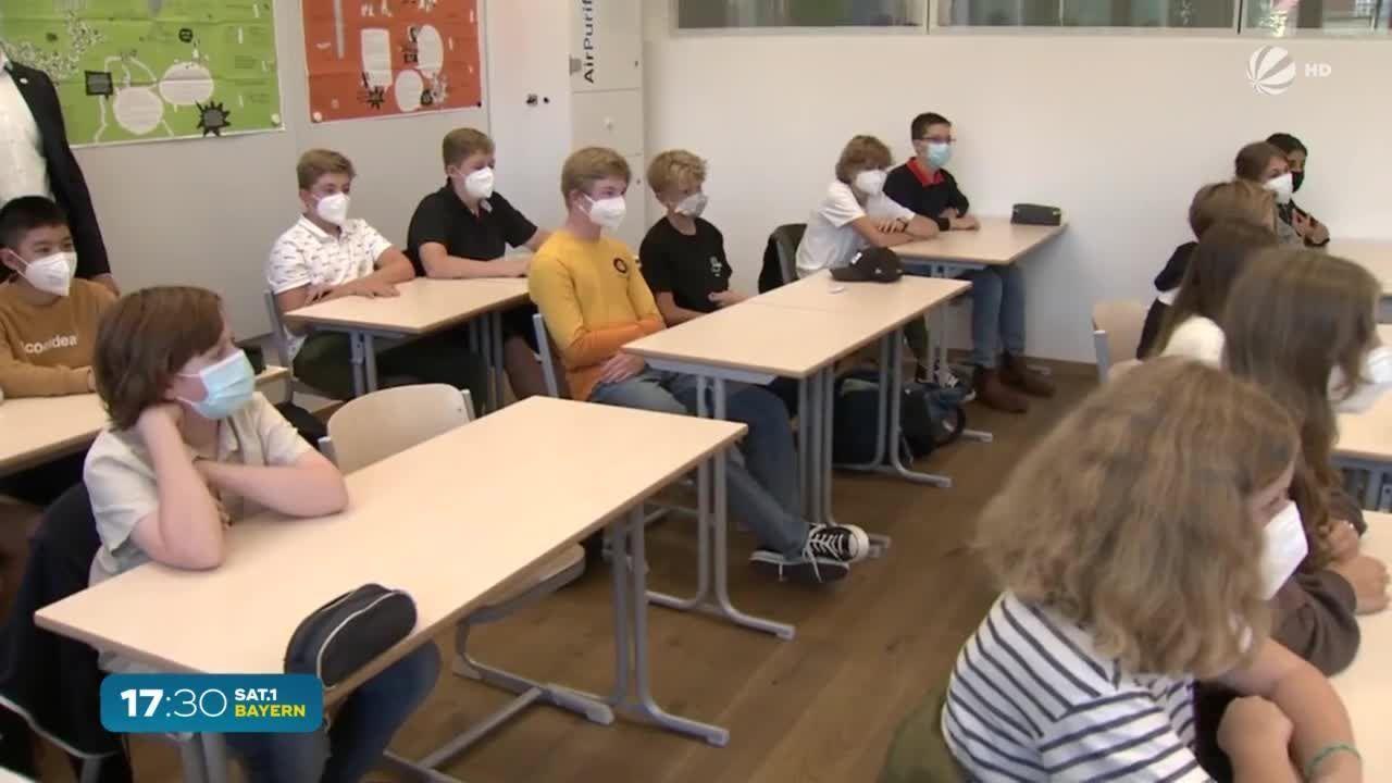 Schulstart in Bayern: Flächendeckende Impfungen in Planung