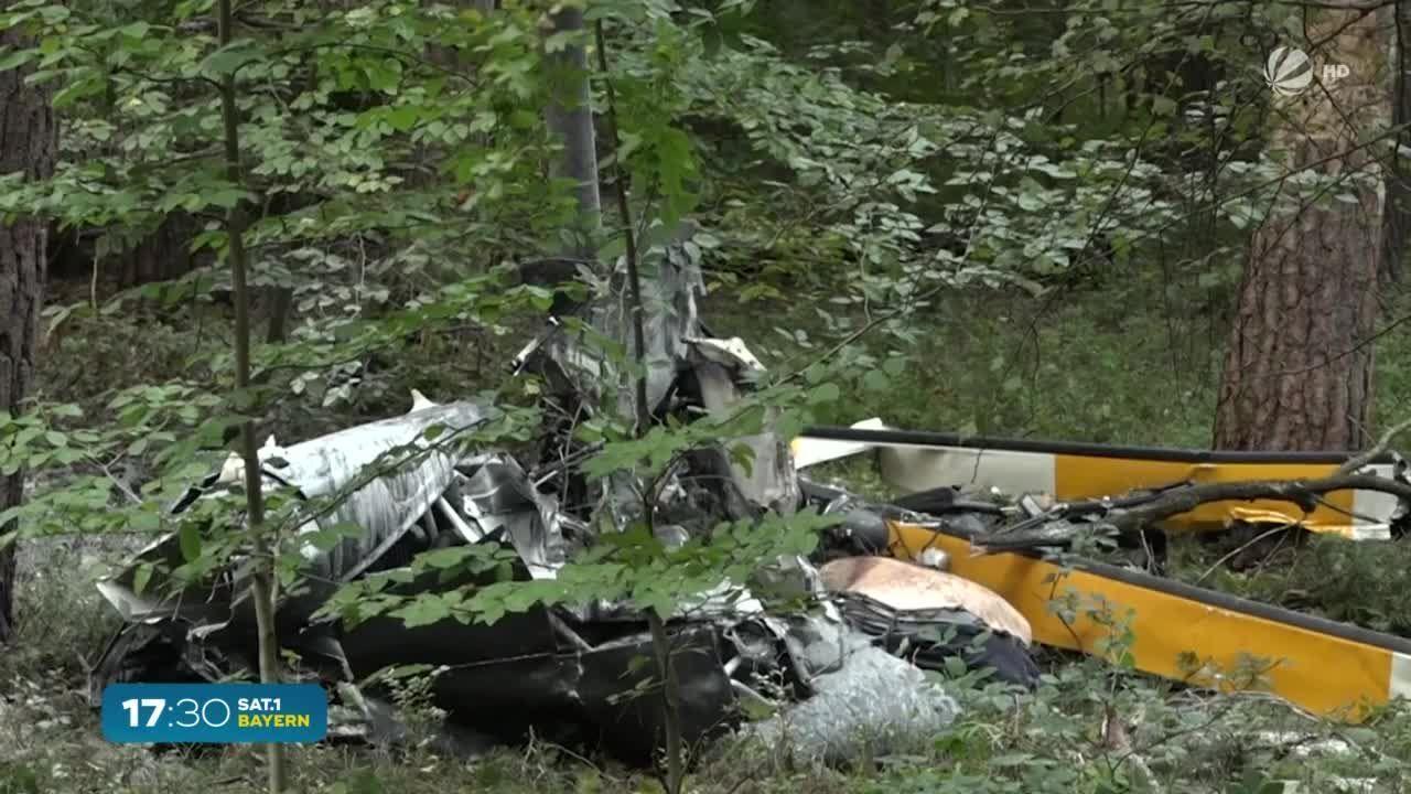 Bei Baden-Württemberg: Drei Tote bei Hubschrauber-Absturz