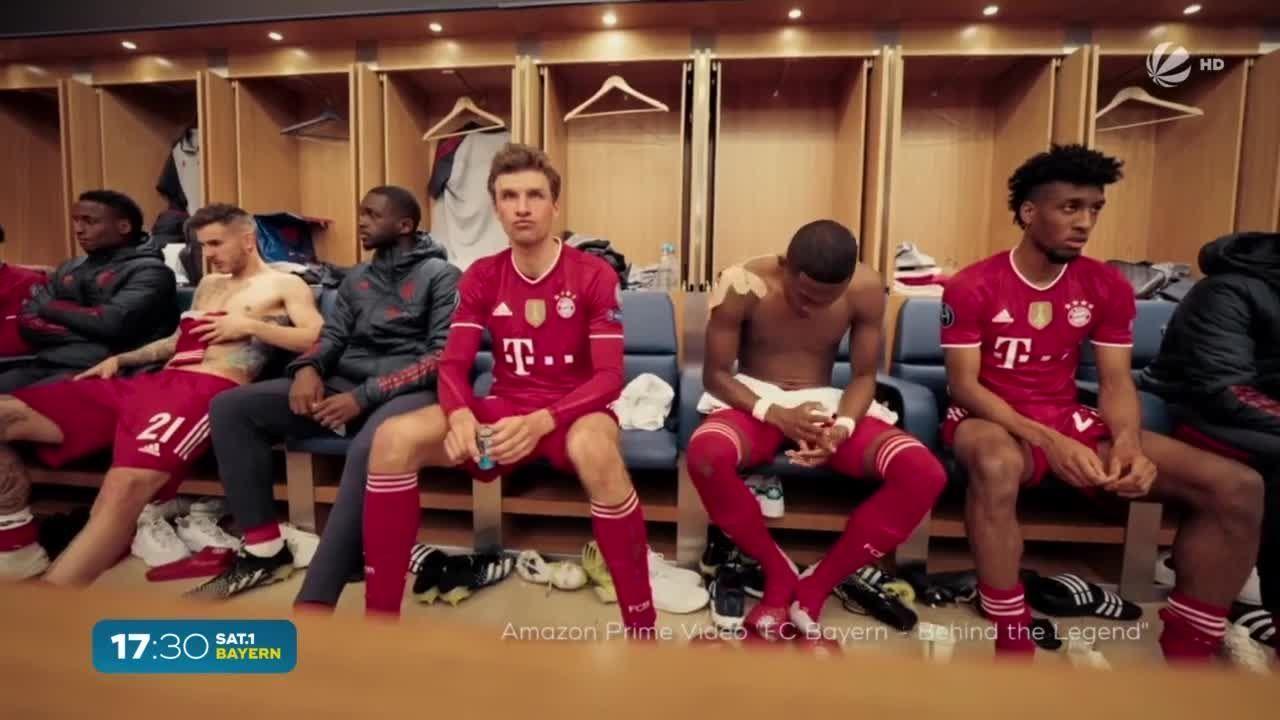 Neue FC Bayern-Doku: Intime Einblicke in die Kabine der Stars