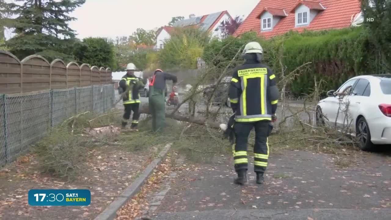 Sturmschäden in Bayern: Wann zahlt die Versicherung?